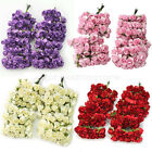 144 Mini Petite Paper Artificial Rose Buds Flowers DIY Craft Wedding Home Decor