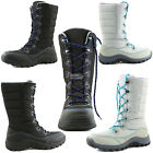 Women Lace Up Warm Outdoor Hiking Mid Calf Ankle Rain Snow Water Resistant Boots
