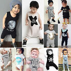 Infant Baby Boys Girls Romper Jumpsuit Bodysuit Summer One Piece Clothes Outfits