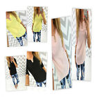 Fashion Sexy Women's Baggy V-neck Long Sleeve T Shirt Tops Casual Blouse S-XL