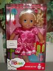 """FiSHeR PRiCE 2012 LITTLE MOMMY """"SWEET AS ME"""" BLoNDe DoLL PiNK DReSS *NeW iN BoX"""
