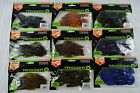"""TRIGGER X AGGRESSION Flappin' Craw 2 1/2"""" 3"""" 4"""" Diff Colors Artificial Lures New"""