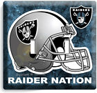OAKLAND RAIDERS NATION FOOTBALL TEAM LIGHT SWITCH OUTLET WALL PLATE COVER DECOR