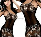 Women Sleepwear Chemise Babydoll Lingerie Nightie Dress Sexy G-string Underwear