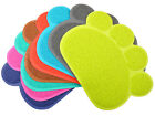 Paw-Shaped Cat Litter Box Mat Dog Food Placemat,8 Colors Available,12*16 Inches