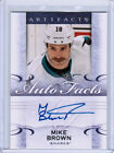 14/15 UD ARTIFACTS HOCKEY AUTO FACTS AUTOGRAPH CARDS (A-XX) U-Pick From List $3.49 USD on eBay