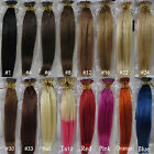 "New 18""~32""Women's Remy Human Hair I-Tip In Extensions More Colors 100s 50g&100g"