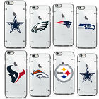 Official NFL Transparent ICE Slim Fit Rubber TPU Case for iPhone 6 6S Cover