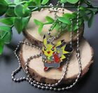 Lot Pokemon Pikachu Jewelry Pendant Chain Necklaces Party Fashion Jewelry M116