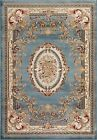Persian-rugs Traditional Blue Area Rug