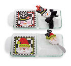 Gift NORTH POLE SECTION SERVER NAPKINS SPREADER Christmas New 122411