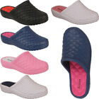 Womens Clogs Mules Slip On Ladies Summer Nursing Garden Beach Sandals Shoes Size