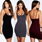 Women New Stretch Bodycon Spagetti Strap Backless Cocktail Dress Women Dresses