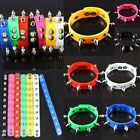 Punk Stainless Steel Rivets Spike Studs Silicone Rubber Cuff Bracelet Wristbands