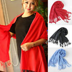 Fashion Women Pashmina Cashmere Silk Warm Shawl Wrap Stole Unisex Long Scarf
