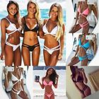 New Womens Bandage Bikini Set Push-up Padded Swimsuit Bathing Swimwear Suit