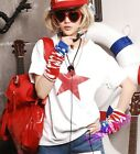 Vogue Chic Girl Star Letter Printing Casual BF Style Womens Summer Tops T-Shorts