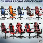 Exclusive Racing Office Computer Chair w/ Adjustable Lumbar Support Gaming Seat