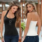 Sexy Women Summer Vest Top Sleeveless Blouse Casual Tank Tops T-Shirt TXCL
