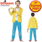 CK732 Roald Dahl Charlie Bucket Boys World Book Week Fancy Dress Kids Costume