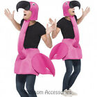 CL212 Flamingo Fancy Dress Costume Bird Men Ladies Womens Male Female Unisex