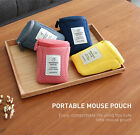 Monopoly Office Portable Mouse Mice Bluetooth USB Pouch Storage Air Mesh Bag