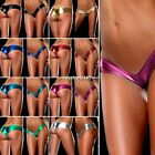 Sexy Women G-String Lingerie Metallic Micro Thong Shorts Panty Underwear Briefs~