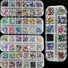 1800Pcs 3D Nail Art For Acrylic Glitter Gem Rhinestone Teardrop Decoration N4U8