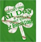 Drink All Day, Start At Breakfast - Irish Beer St. Patrick's Day T-Shirt Green