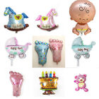 Boy Baby Shower Foil Christening Balloons Decoration Kids Party Supply Gift New