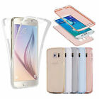 Shockproof 360° Silicone Protective Clear Soft Case Cover For Samsung Galaxy