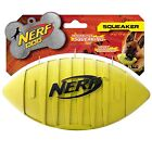 NERF DOG SQUEAKER 7 INCH FOOTBALL DOGS TOY