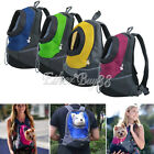 Pet Front Carrier Dog Cat Carrier Bag Travel Bag Mesh Head Out Backpack Size S/M