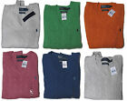Polo Ralph Lauren Mens RL Silk Cable Knit V Neck Ivy League Pony Logo Sweater