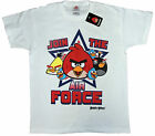 Boys Angry Birds T-shirts 3-4 up to 13-14 Years Five Colour Styles Available