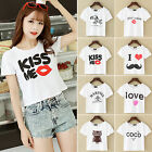 CHIC Sexy Women Casual Cotton Blouse Vest Short Sleeve Shirt Summer T shirt Tops