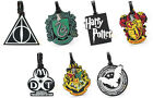 Harry Potter Large Rubber Luggage Tag New Official In Pack Hogwarts / Gryffindor