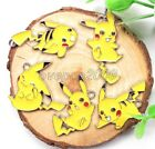 Lot Mixed Pokemon Pikachu Metal Charms Pendants Jewelry Making Party Favors N282