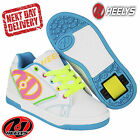 Heelys White Propel 2 Kids Junior Roller Skates Trainers Boots UK Sizes 13-5