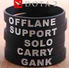 DZ889 DotA Defense of the Ancients 5 position role Wristband Bracelets Bracele ☆