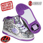 Heelys Snake Purple Flash 2 Kids Junior Roller Skates Trainers UK Sizes 13-5