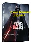 NEW Star Wars: Complete Saga episodes 1-6 I,II,III,IV, V, VI 12-Disc Box Set DVD