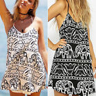 CHIC New Sexy Womens Summer Casual Sleeveless Party Evening Cocktail Dress