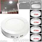 Ultra Slim Round LED Panel Light Ceiling Downlight Surface Wall Mount 6W 9W Lamp