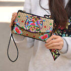 Lady China Style Handmade Embroidery Shoulder Messenger Bag Cloth Purse Handbag