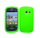 Silicone Rubber Soft Gel Cover Case for Samsung Galaxy Discover SCH-R740C R740C