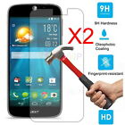 2x Anti-Scratch Tempered Glass Screen Protector Cover Film For Acer Liquid Phone