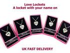 Personalised Name Love Lockets Necklace-Special Cousin/Niece/Grandaughter/ForYou