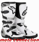 Alpinestars Tech 6 YOUTH MX Motocross Boots Kids White/Black  KIDS SIZES