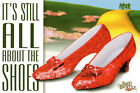 The Wizard Of Oz It's Still All About The Shoes Metal Decorative Plaque